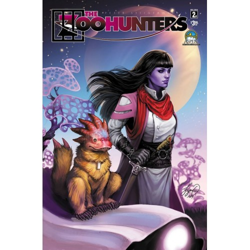 The Zoohunters 2 Variant Cover (VO) signé par Steigerwald