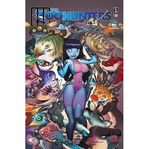 The Zoohunters 3 Chris Sanders Variant (VO)