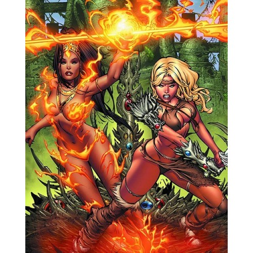 Devi Witchblade One Shot Basaldua Cover