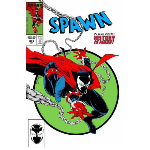 SPAWN 301 (VO) Todd McFarlane Parody Cover (H)