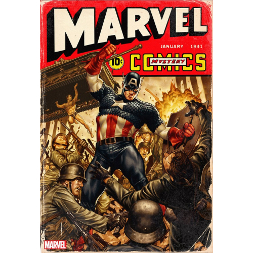 MARVEL COMICS 1000 40s VARIANT COVER BY MARK BROOKS (VO)