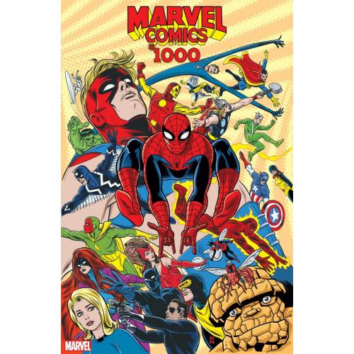 MARVEL COMICS 1000 ALLRED 60S VAR (VO)