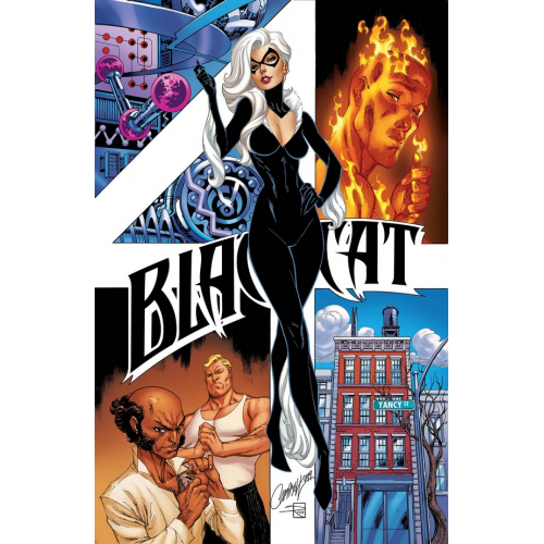 Black Cat 4 (VO) J. Scott Campbell Cover