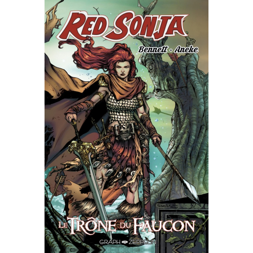 Red Sonja Le trône du faucon - Edition Collector- 200 ex - (VF) occasion