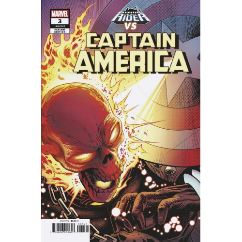 CAPTAIN AMERICA 3 ZIRCHER COSMIC GHOST RIDER VAR (VO)