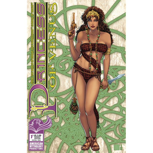 PRINCESS OF VENUS 1 (VO) WOLFER VENUS RISING CVR