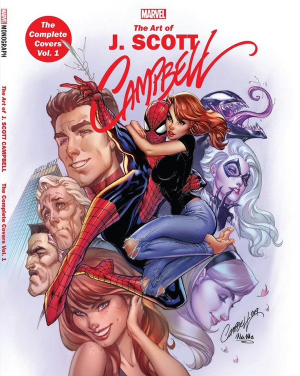 MARVEL MONOGRAPH: J. SCOTT CAMPBELL - THE COMPLETE COVERS VOL. 1 TPB (VO)