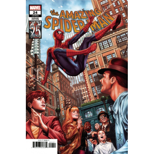 AMAZING SPIDER-MAN 24 BROOKS MARVELS 25TH TRIBUTE VAR (VO)