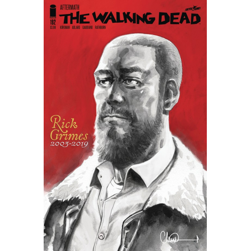 Walking Dead 192 (VO) 2nd Print - SPECIAL COMMEMORATIVE ED