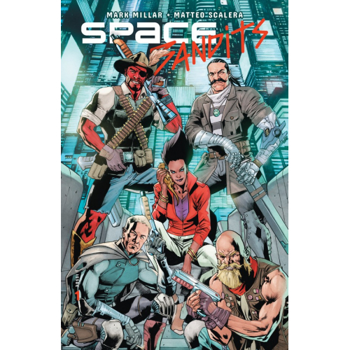 SPACE BANDITS 1 (OF 5) CVR D HITCH (VO)