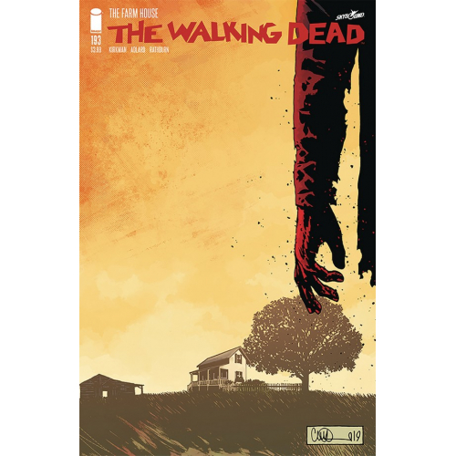Walking Dead 193 (VO) 2nd Tirage
