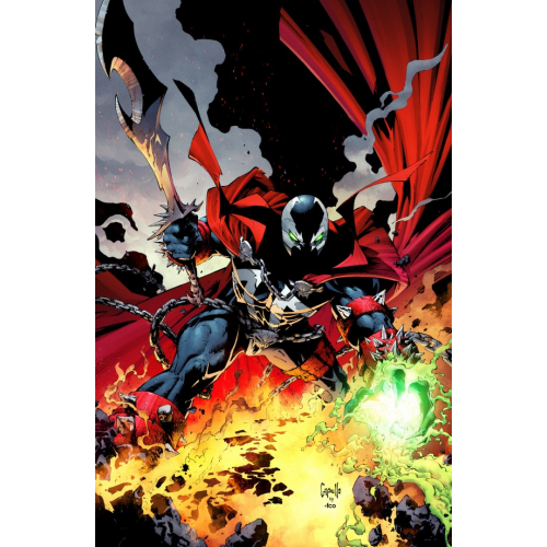 SPAWN 300 (VO) Greg Capullo VIRGIN Cover (D)