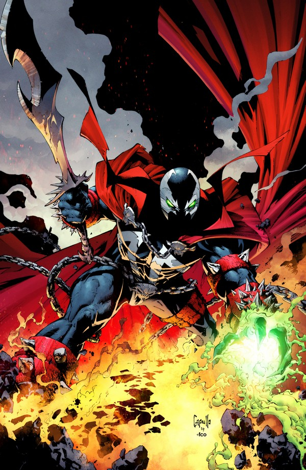 SPAWN 300 (VO) Greg Capullo Cover (C)
