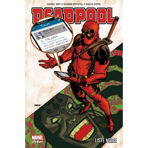 DEADPOOL DELUXE TOME 6 LISTE NOIRE (VF) occasion