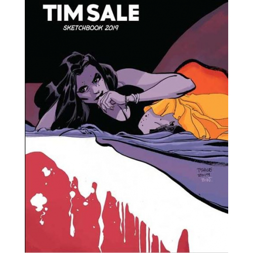 Tim Sale Sketchbook - San Diego Comic Con 2019