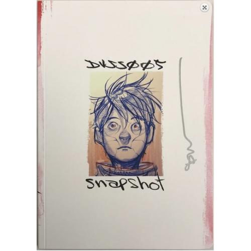 Dustin NGuyen Sketchbook - San Diego Comic Con 2019 - Signé