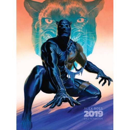 Alex Ross Sketchbook - San Diego Comic Con 2019 - Signé, numéroté et limité