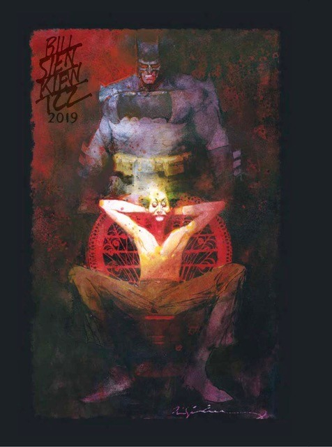 Bill Sienkiewicz Sketchbook - San Diego Comic Con 2019