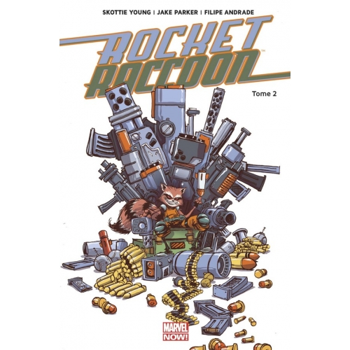 ROCKET RACCOON MARVEL NOW T02 (VF) Occasion