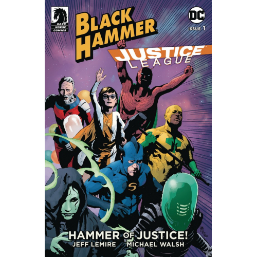 BLACK HAMMER JUSTICE LEAGUE 1 (OF 5) CVR B SORRENTINO (VO)