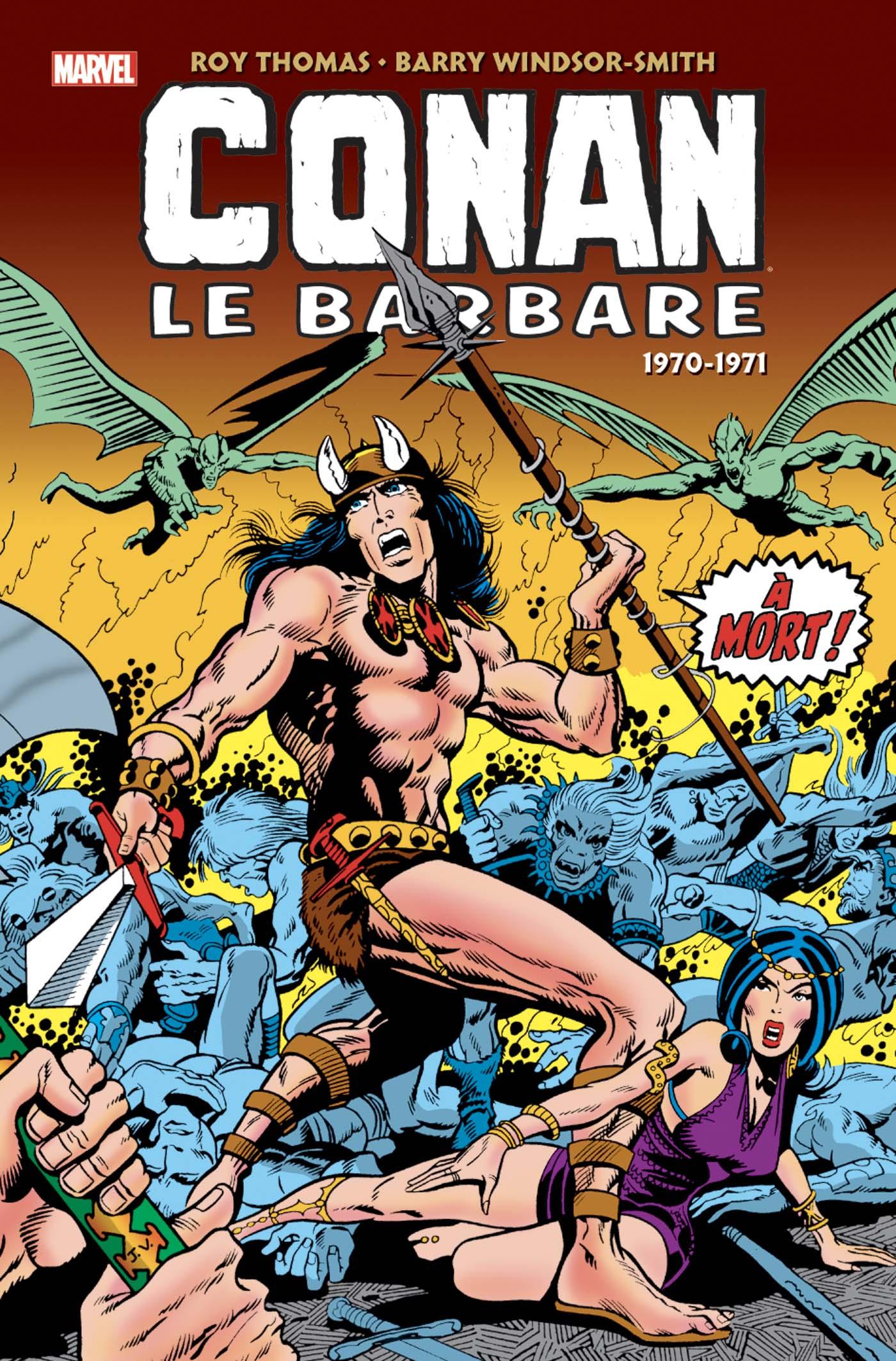 CONAN LE BARBARE L'INTÉGRALE 1970-1971 (VF)