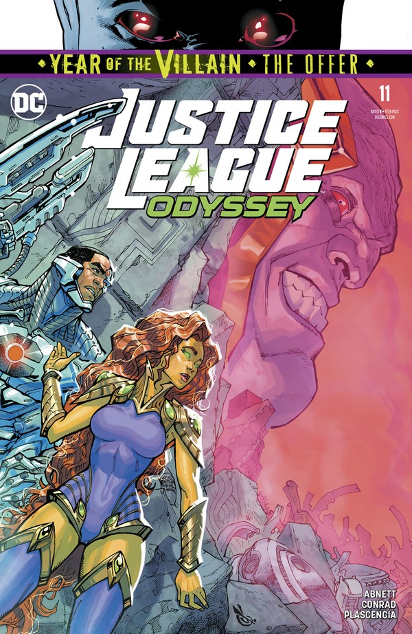 JUSTICE LEAGUE ODYSSEY 11 YOTV THE OFFER (VO)