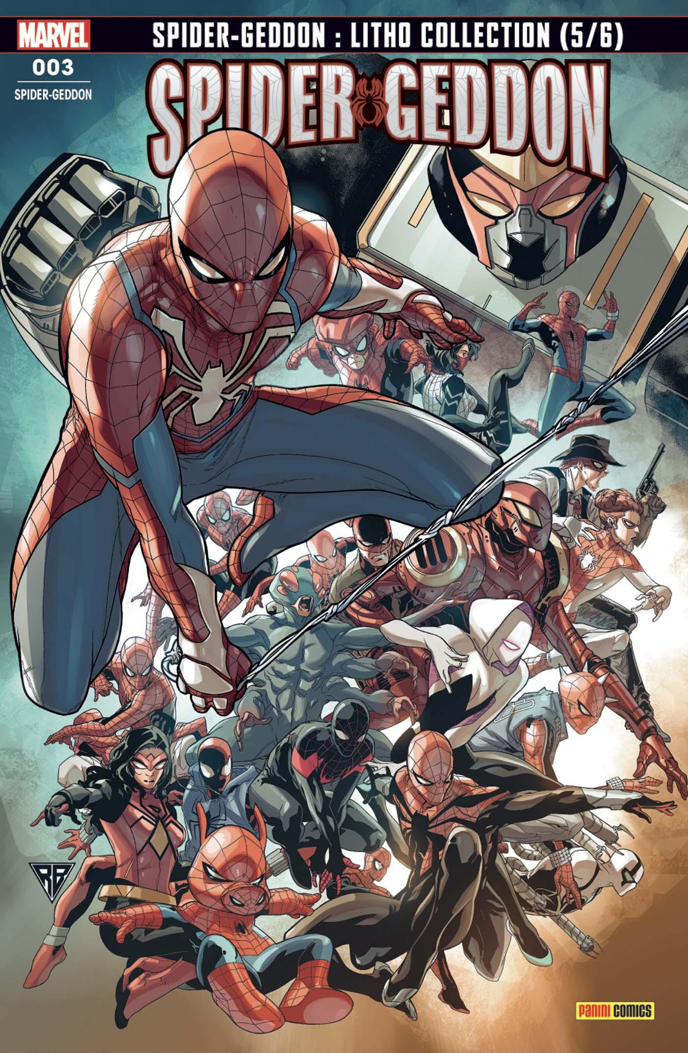 SPIDER-MAN SPIDER-GEDDON 3 FRESH START (VF)