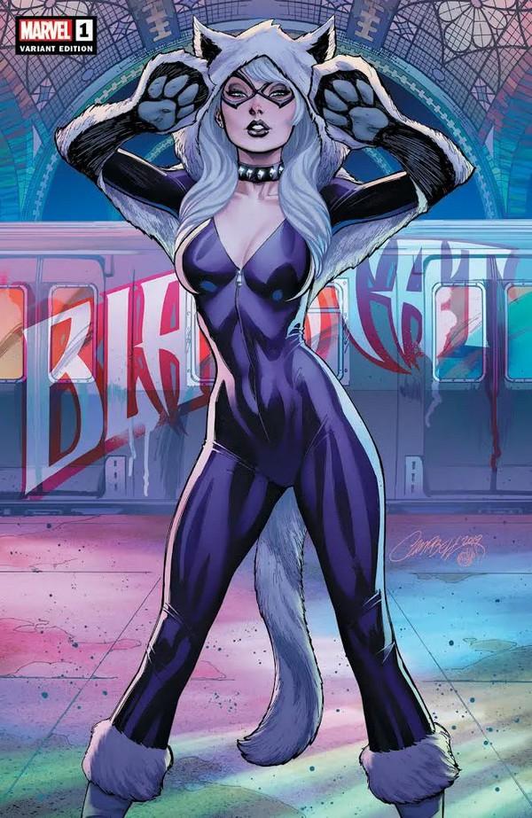 Black Cat 1 (VO) RARE J. Scott Campbell VARIANT Cover