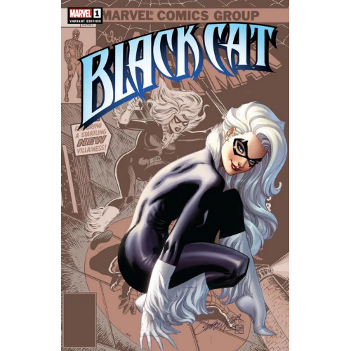 Black Cat 1 (VO) RARE J. Scott Campbell VARIANT Cover