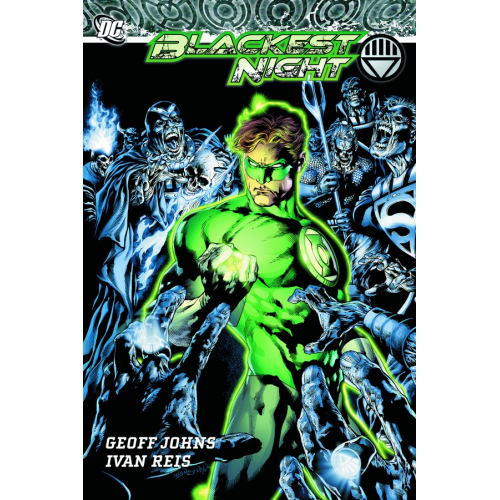 BLACKEST NIGHT HC (VO) occasion