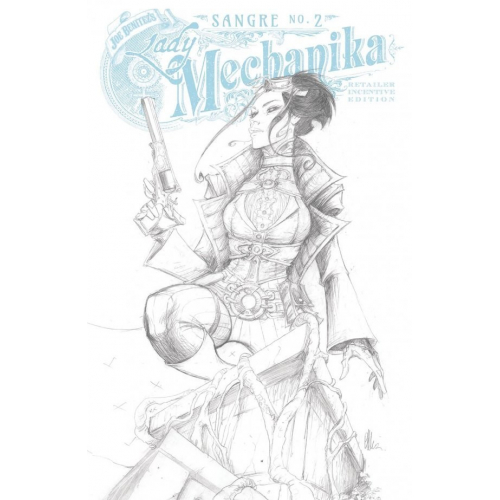 Lady Mechanika : Sangre 2 10 copy Benitez Incentive Cover (VO)