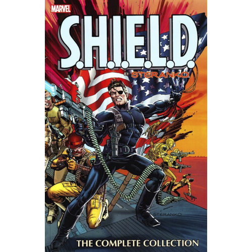 SHIELD BY STERANKO TP COMPLETE COLLECTION (VO) occasion