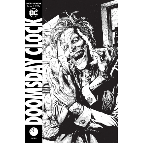 DOOMSDAY CLOCK 5 Cover B (VO)
