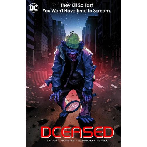 DCEASED 6 HORROR MOVIE CARD STOCK VARIANT (VO)