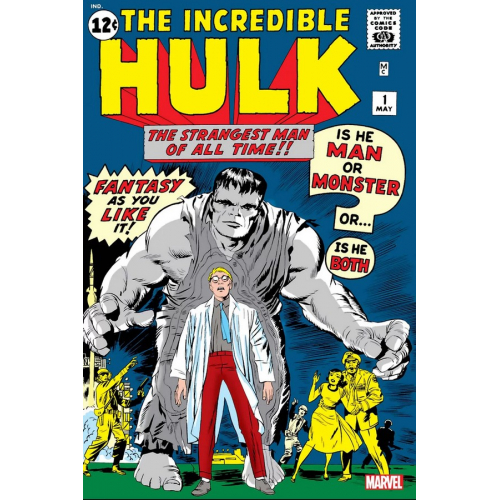 INCREDIBLE HULK 1 FACSIMILE EDITION (VO)