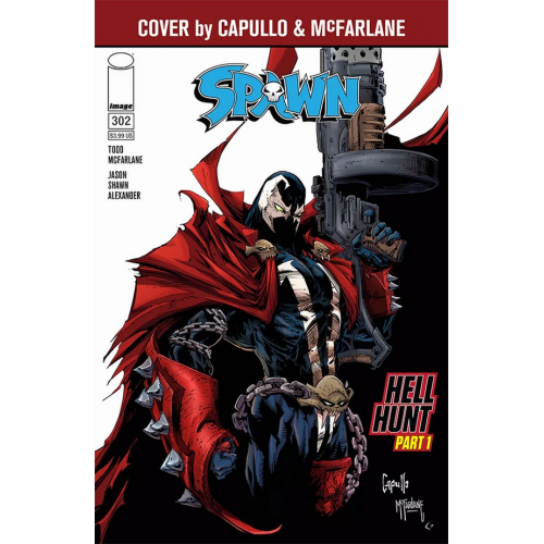 SPAWN 301 (VO) Francesco Mattina Cover (G)