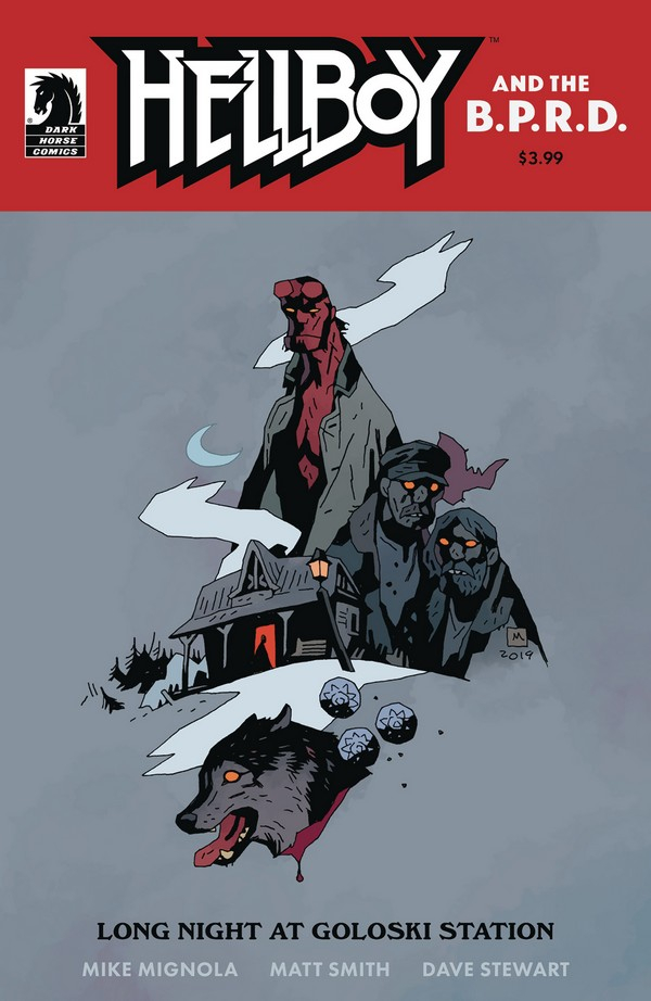 HELLBOY AND BPRD BEAST OF VARGU CVR A FEGREDO (VO)