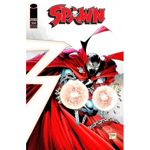 SPAWN 300 (VO) Capullo & McFarlane Cover (E)
