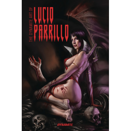 DYNAMITE ART OF LUCIO PARRILLO HC (VO)