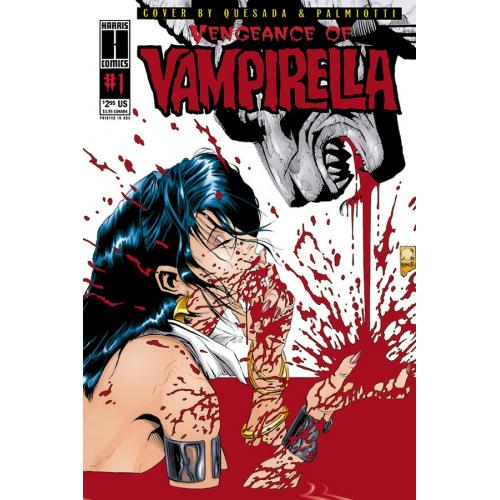 VENGEANCE OF VAMPIRELLA 1 (1994) LTD REPLICA ED (VO)