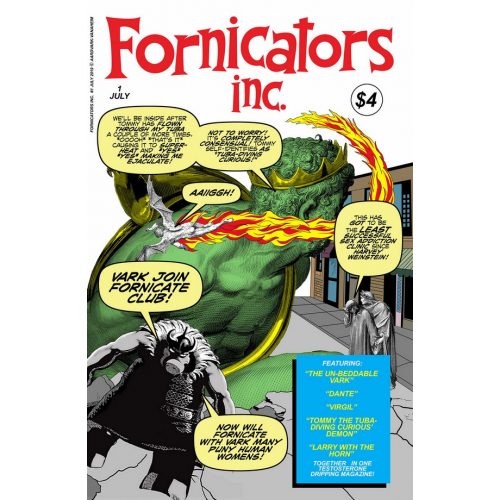 FORNICATORS INC ONE SHOT (VO)