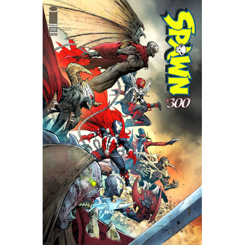 SPAWN 300 (VO) Jerome Opena Cover (H)