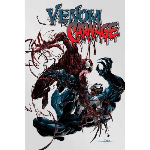 ABSOLUTE CARNAGE VENOM VS CARNAGE 1 (VO)