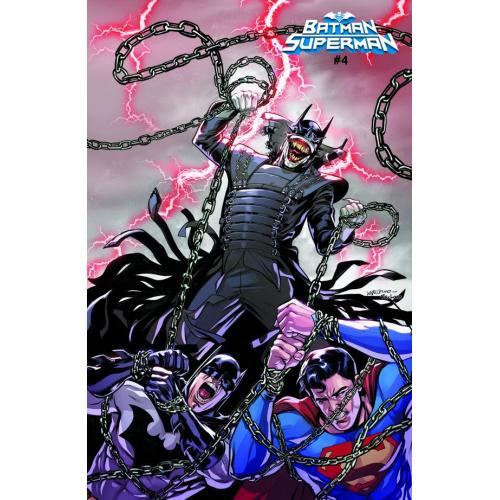 BATMAN/SUPERMAN 4 ACETATE COVER (VO)