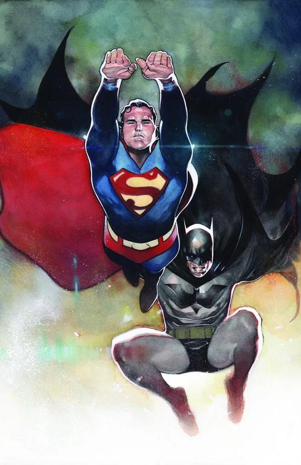 BATMAN/SUPERMAN 4 COIPEL CARDSTOCK VARIANT(VO)