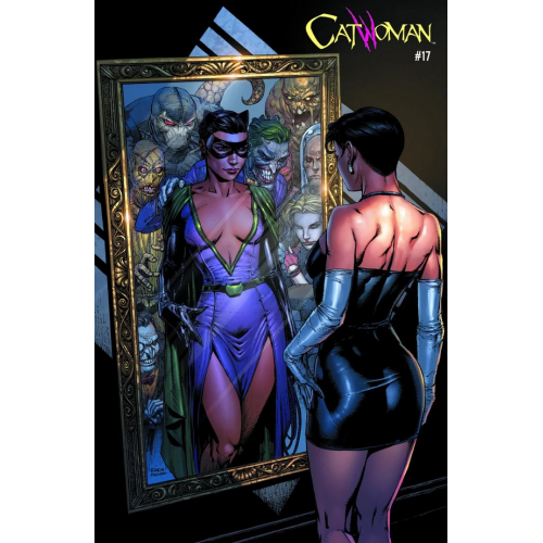 CATWOMAN 17 ACETATE FINCH COVER (VO)