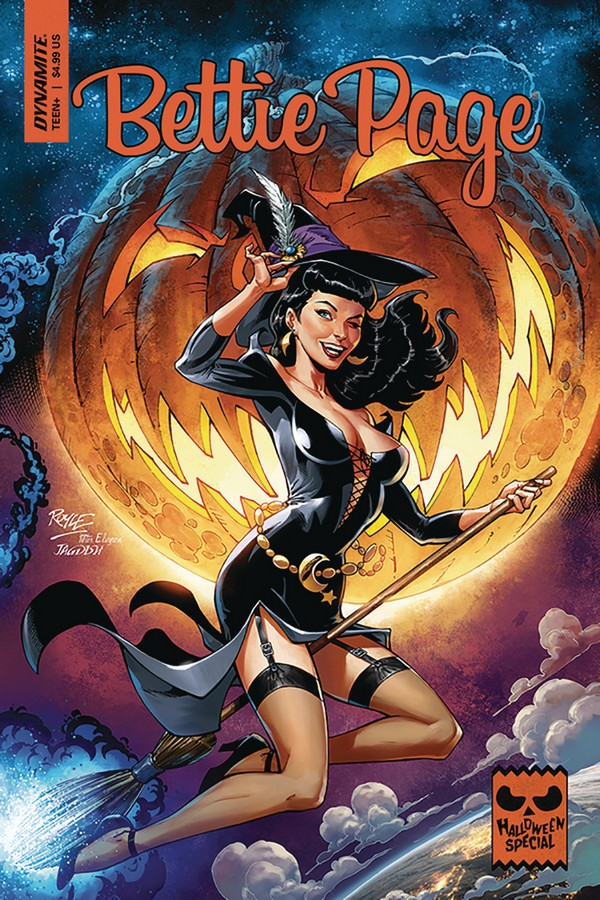 BETTIE PAGE HALLOWEEN SPECIAL ONE SHOT CVR A ROYLE (VO)