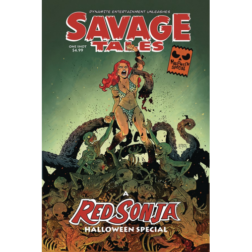 SAVAGE TALES HALLOWEEN SPECIAL ONE SHOT 0 CVR A DURSO (VO)