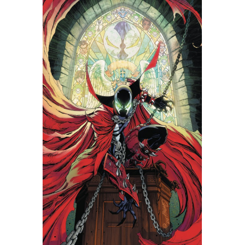 SPAWN 300 (VO) J Scott Campbell Virgin Cover (M)