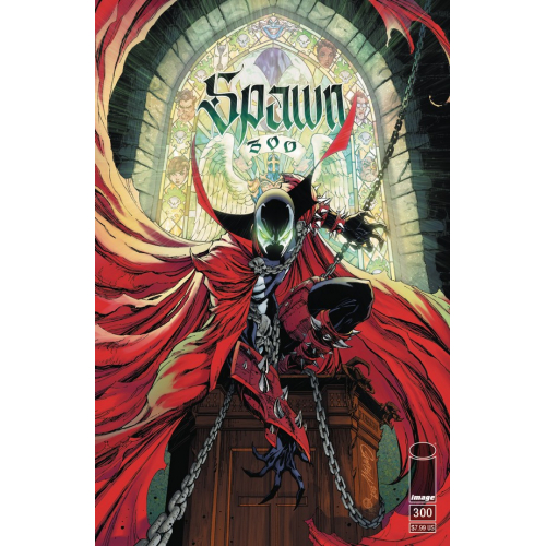 SPAWN 300 (VO) J. Scott Campbell Cover (G)